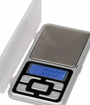 Jazooli 0.1g - 500g Digital Pocket Weighing Mini Scales For Jewlery Gold Kitchen