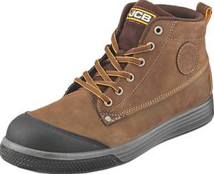 JCB, 1228[^]3022G 4CX Safety Trainer Boots Brown Size 8 3022G