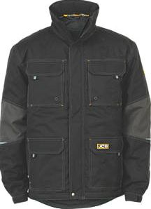 JCB, 1228[^]5928H Bamford Jacket Black Large 41`` Chest 5928H