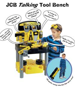 Jcb Talking Tool Bench Role Play Toy Review Compare