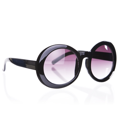 Jeepers Peepers Black Retro Audrey Sunglasses from Jeepers Peepers product image