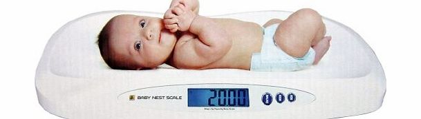 Jennings Nest Digital Scale Weigh Baby Pets 20kg x 5g product image