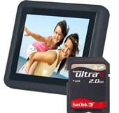 Jessops 3.5`` LCD Photo Frame with 2GB Card product image