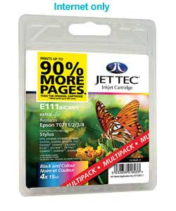 jet Tec Epson T071 Multipack Compatible Cartridge product image