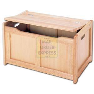 John crane ltd pin furniture wooden natural toy chest - Plan coffre a jouet en bois ...