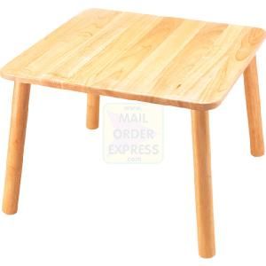 PINTOY Wooden Square Table