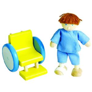 Wheel chairPatientSize 6cm x 7 5cm x 6 5cm - CLICK FOR MORE INFORMATION