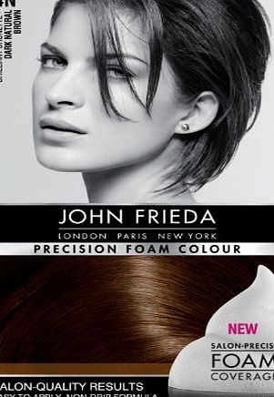 John Frieda Precision Foam Colour Number 4N, Dark Natural Brown
