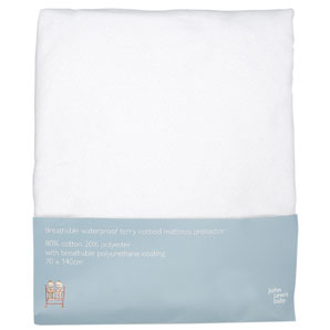 Baby Terry Cotbed Mattress Protector