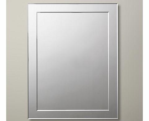 John lewis bathroom accessories reviews for Mirror 45 x 60
