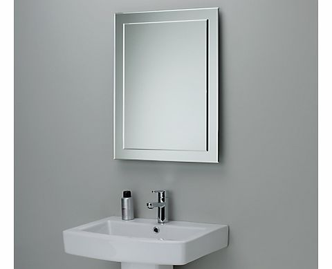 John lewis bathroom accessories reviews for Mirror 50 x 70