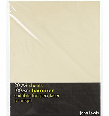 Hammer A4 Paper, Ivory, 20 Sheets