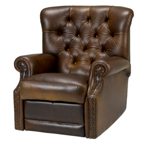 John Lewis Lancaster Leather Recliner Chair Furniture