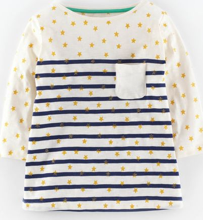 Johnnie  b, 1669[^]34893552 Esther T-shirt Navy/Gold Stars Johnnie b,