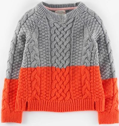 Johnnie  b, 1669[^]34893149 Flora Jumper Grey Marl/Washed Red Johnnie b,