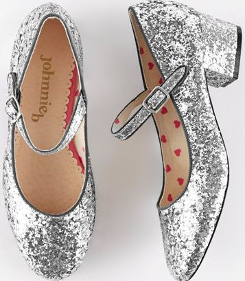 Johnnie  b, 1669[^]34984534 Glitter Mary Janes Grey Johnnie b, Grey 34984534