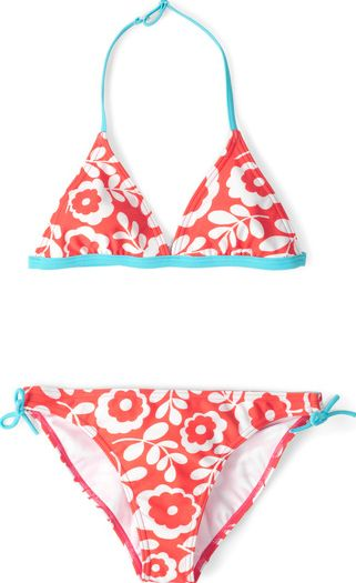 Johnnie  b, 1669[^]34507640 Halterneck Bikini Red Johnnie b, Red 34507640
