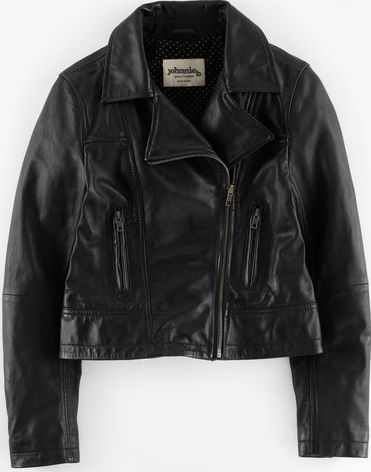 Johnnie  b, 1669[^]34895318 Patty Leather Jacket Black Johnnie b, Black
