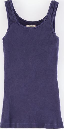 Johnnie  b, 1669[^]34863621 Slim Rib Vest Blue Johnnie b, Blue 34863621