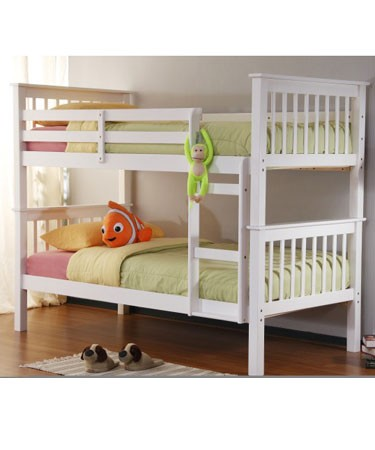 Joseph™ Kelly White Bunk Bed product image