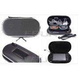 Joyecom FPUK - BLACK CONSOLE GAME CARRY CASE HOLDER BAG FOR SONY PSP / UMD DISCS product image