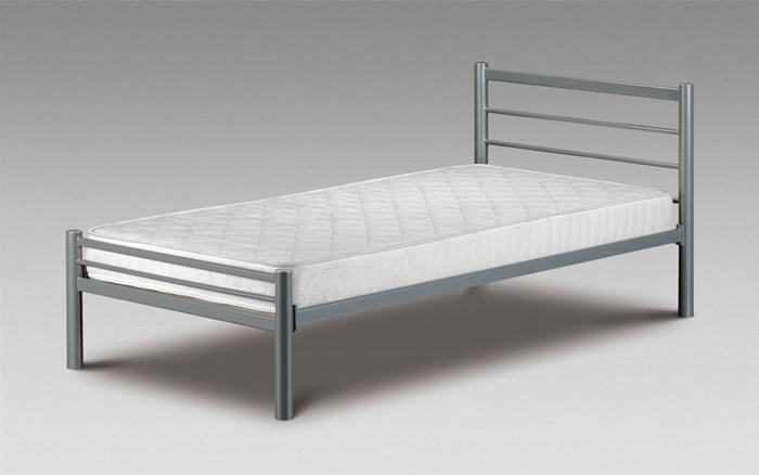 Julian bowen beds single beds for Single bed frame without headboard
