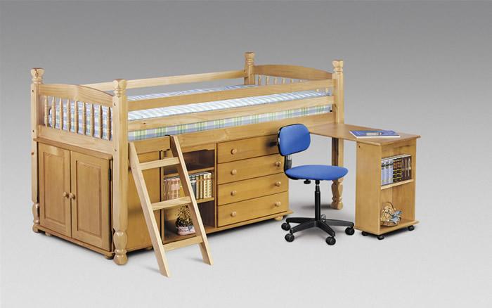 Кровать из натурального дерева своими руками