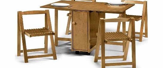 Julian Bowen Crantock Dining Table Set with 4 Chairs  : julian bowen crantock dining table set with 4 chairs light oak from www.comparestoreprices.co.uk size 545 x 227 jpeg 22kB