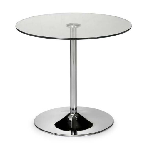 round glass dining table : julian bowen kudos round dining table with glass from www.comparestoreprices.co.uk size 500 x 500 jpeg 15kB