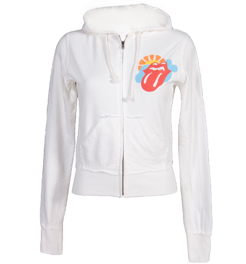 Junk Food Ladies Rolling Stones Lightweight Hoodie from product image