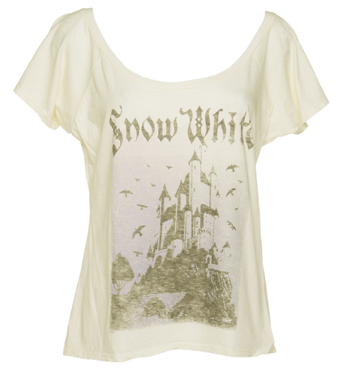Junk Food Ladies Snow White Castle Off the Shoulder product image