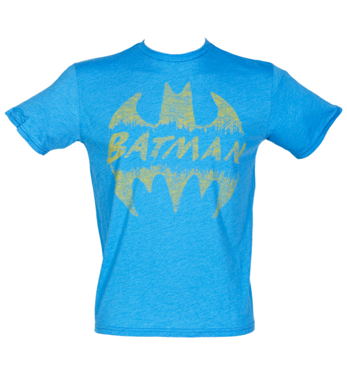 Junk Food Mens Batman Crackle Logo T-Shirt from Junk product image