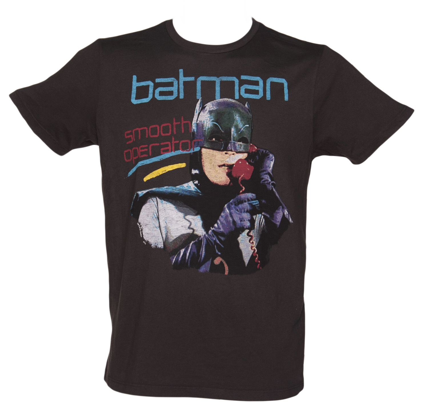 Junk Food Mens Black Smooth Operator Batman T-Shirt from product image