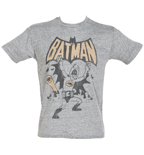 Junk Food Mens I Am Batman Triblend T-Shirt from Junk product image