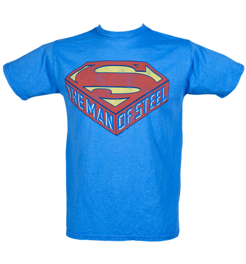 Junk Food Mens The Man Of Steel Superman T-Shirt from product image