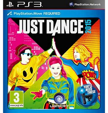 Just Dance 2015 PS3 Game (Feat. Frozen)