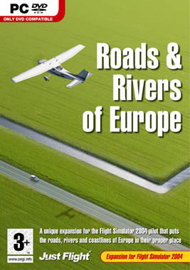 Just Flight Roads and Rivers of Europe PC
