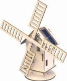 JUST GREEN SOLAR POWERED WINDMILL KIT product image