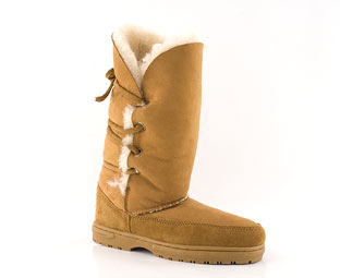 Just Sheepskin Mid High Casual Boot