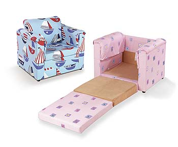 Just4Kidz Fun4Kidz Chair Bed product image