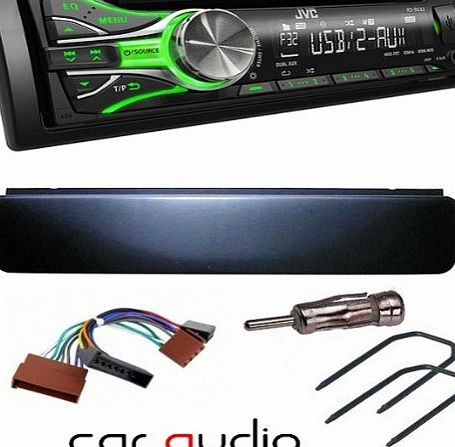 FORD TRANSIT/ESCORT CAR STEREO RADIO WITH FULL FITTING KIT KIT INCLUDES JVC CAR CD PLAYER FASCIA/FACIA PLATE AERIAL ADAPTOR ISO LEAD & KEYS.(Please Note Stereo Illumination may vary)