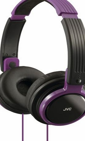 JVC HAS200V RIPTIDZ Portable On-Ear Headband Headphones (Violet) JVC HAS200V RIPTIDZ Portable On-Ea