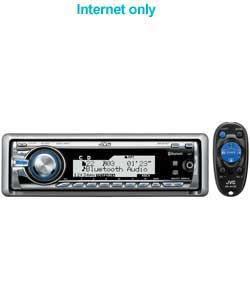 jvc In Car CD/MP3 Bluetooth Direct iPod Stereo