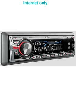 JVC In Car CD/MP3 Front Aux-In Point Stereo