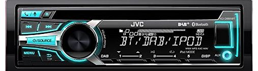 KD-DB95BT CD/MP3 Car Stereo with Front USB/AUX Input and Built In Bluetooth