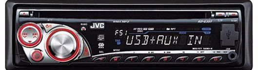 KD-G351 CD / MP3 Player With Aux InUSB Front Input