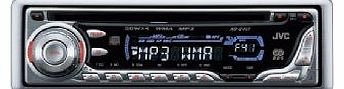 KD-G411 Car Stereo CD MP3 Radio Tuner Full Face Off