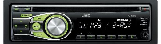 KD-R332 CD Car Stereo with Front AUX Input CD/MP3 Playback