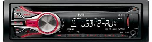 KD-R431 CD Car Stereo with Front AUX/USB Port CD/MP3 Playback