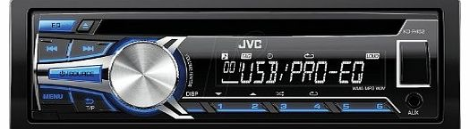 KD-R452E Car Stereo ( Bluetooth, Front AUX-Input )